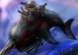 完全無欠の守護神!要塞クジラ