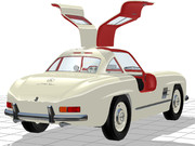 ガルウィングなオイゲンさんの愛車(300SL)その3(メルセデス・ベンツ)W198