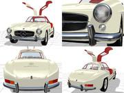 ガルウィングなオイゲンさんの愛車(300SL)その5(メルセデス・ベンツ)W198