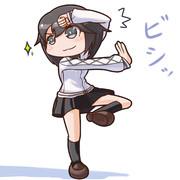 カンフーぽい速吸ちゃん(里中千枝)