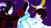 【MMD刀剣乱舞】てんしとあくま【薬研と石切】