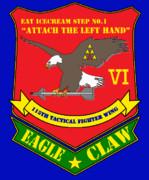 イーグルクロウ隊 6番機 部隊章
