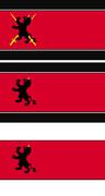 ルキスラ帝国 国旗作成(案1~3)