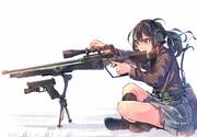 スナイパー武装JK