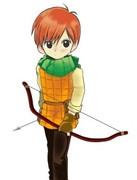 【ダンジョン飯】チルチャックて弓装備・w・