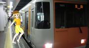 初めて「電車」というものに乗るよ