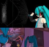 【MMD】クモの巣v1【モデル・アクセサリ配布】