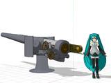 40口径15.2センチ単装砲 みたいなものUPしました。