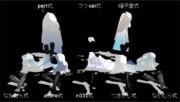 【MMD刀剣乱舞】たっぷり青江の白装束