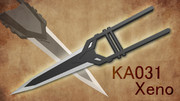 【MMD武器】KA031 Xeno / ゼノ【ジャマダハル】