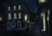 夜街ルーミア一人歩き