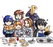 料理づくりです。