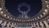 【Minecraft】PS4で街作り中!!!!  お城② 夜