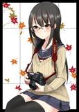 カメラと眼鏡っ娘