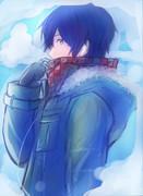 冬っぽいらくがき