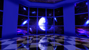 【MMDステージ配布】宇宙の部屋 ST22【AL対応】