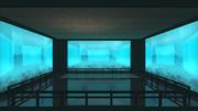 【MMDステージ配布】水槽の部屋 ST23【AL対応】