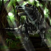 ティラノサウルス型ゾイド野生体
