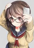 癖っ毛眼鏡さん