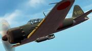 【MMD】零式艦上戦闘機六二型【配布】