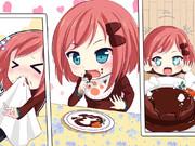 ハンバーグ大好きすずりちゃん