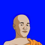 修行僧と化した先輩