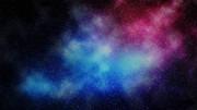 星空風の背景(青×ピンク)