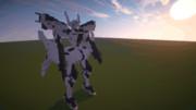 【Minecraft】XFJ-01a 《不知火・弐型》ユウヤ・ブリッジス機