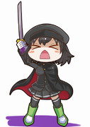 刀とマントとあきつ丸(>△<)
