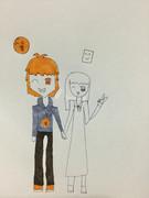 オレンジとマシュマロ