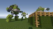 「JointBlock」マイクラでスコープドック(改)「minecraft」
