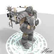 装甲歩兵D型Head_増加装甲付