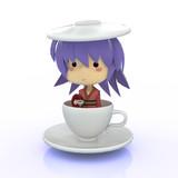 【パク…】少名コーヒーカップ丸