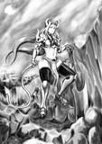 Trisun - ルシャナ『溶岩の河原にて』