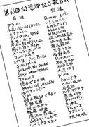 第66回幻想郷紅白歌合戦出演者リスト