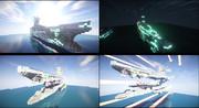 【マインクラフト】蒼き鋼のアルペジオ 純白の超戦艦 総旗艦ヤマト