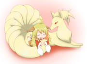 美希とキュウコン