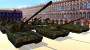 【MMD】ベリサリウス主力戦車+オマケ【配布】