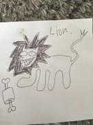 「ライオン」を書いてみた
