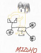 「自転車に乗る子供」を書いてみた