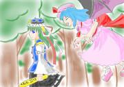 映姫とレミリア