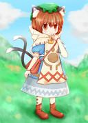 ネコ嬢ちぇん