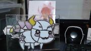 牛鬼のステンドラグラス