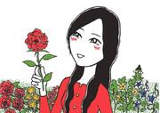 そらいぶ笑劇場(88) 花を愛でる人
