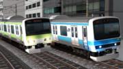 電車でGO!で見たことある光景。