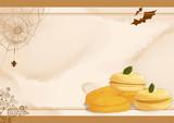 パンプキンクッキーとマカロン