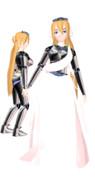 MMD Caroline Joy - UTAULOID - Armor