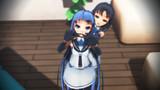【MMD艦これ】五月雨ちゃん精一杯の威嚇!