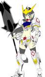 ASW-08 ガンダム・バルバトス(擬人化)