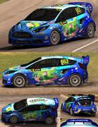 【Dirt Rally】痛車ラリーカーにしてみた3【波打際のむろみさん】